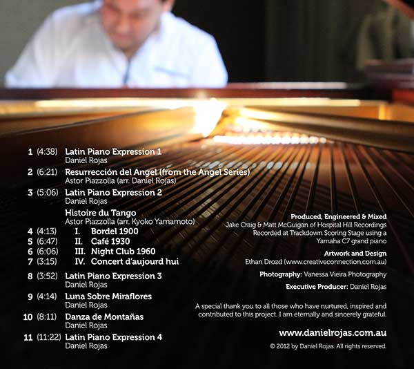 Latin Piano Expressions back cover